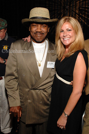 "Smokin Joe Frazier & Amy Wright at the Sheraton for ""Heroes and Legends... a Night at the Fights"" to benefit ""Tuesday's Children"""
