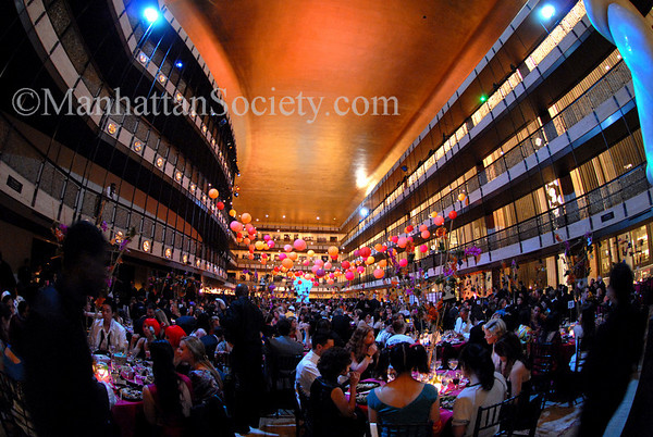 The Dinner Party upstairs at the New York State Theater at Lincoln Center