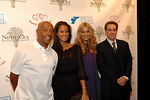 Russell Simmons with guest Porschla, Petra Nemcova and Brad Edson of NutraCea