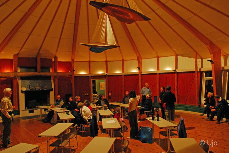 Därefter intog vi cirkusen, som är en vacker samlingssal,