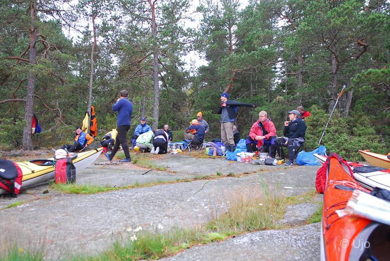 Lunch norr Vässarö