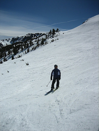 More boring pictures of me skiing