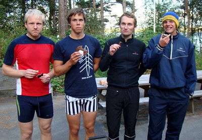 Magnus, Nils Henrik, Arne og Stein