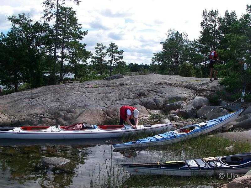 Tina & Rickard gjorde en segelbåts förtöjning med sin K2:a