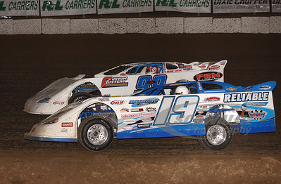 19 Steve Casebolt and 99 Donnie Moran