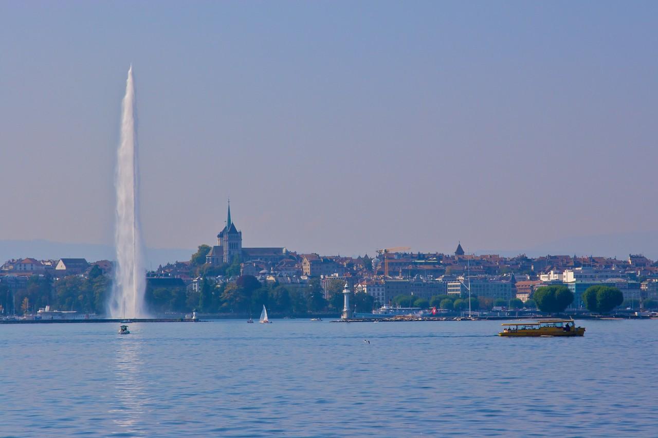 Geneva from the lake