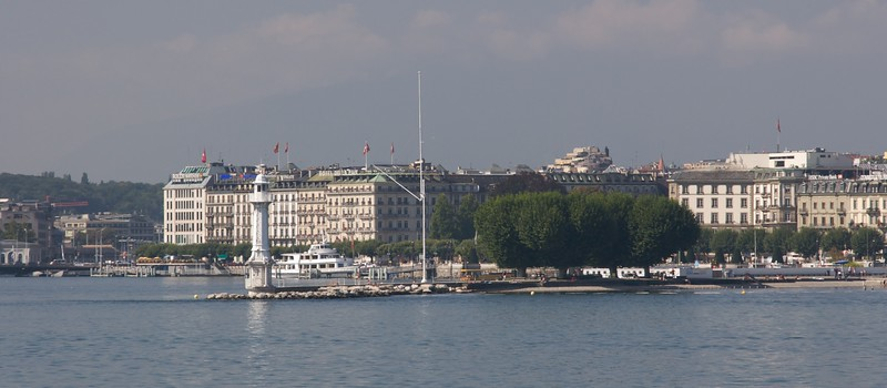 Geneva from the lake