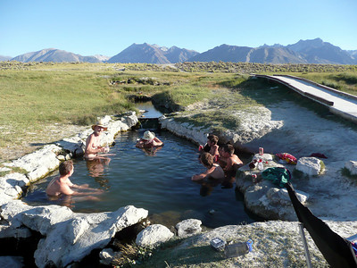But first, Wild Willies Hot Spring in the Long Valley Caldera between Mammoth and Bishop.