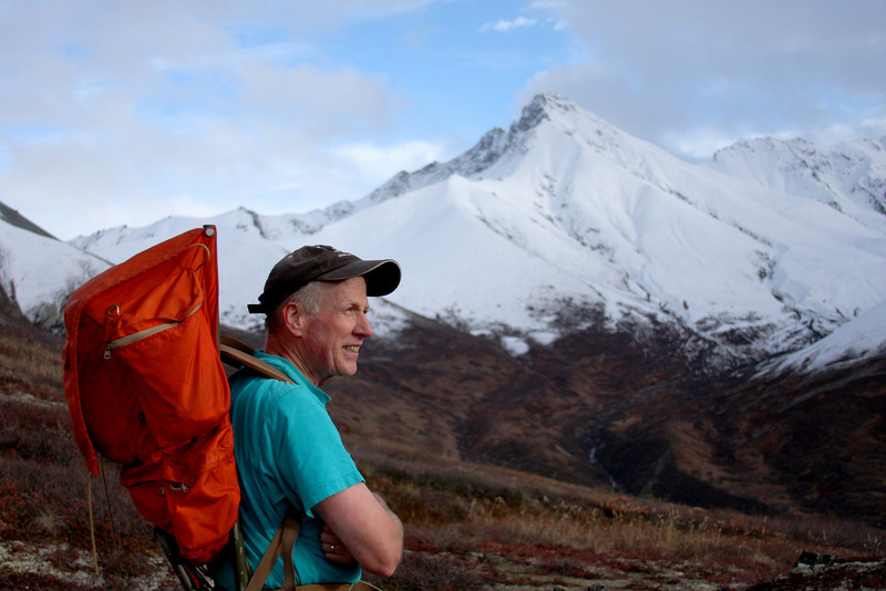Dave Clayton spends many of his free days out walking around these mountains, and pioneered the trail we went up himself.