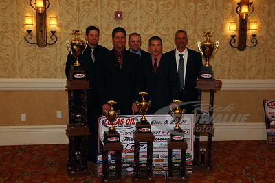 Earl Pearson, Jr. and crew Bobby Labonte, Jason Fitzgerald, Matt Langston and Keith Edwards