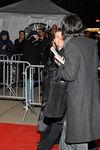 Slight Glimpse of Willem Dafoe arriving at NameSake Premiere