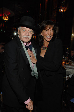 John Chamberlain & Mercedes Ruehl at The Rainbow Room for Guild Hall Academy of the Arts 22nd Annual Lifetime Achievement Awards