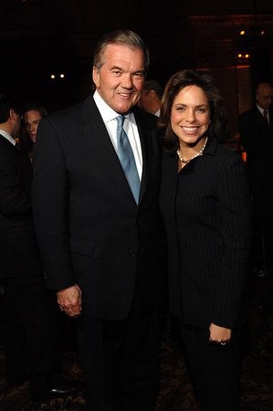 Governor Tom Ridge (former Director of Homeland Security) and Soledad O'Brien