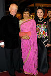 John B. Coleman, Vishakha Desai & Miranda Wong Tang at The International Asian Art Fair Opening Night Preview to Benefit Asia Society