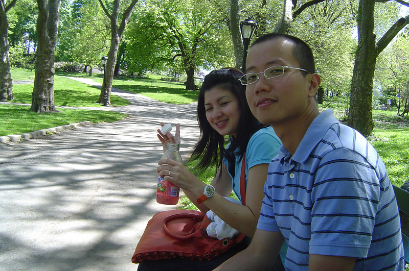 Darryl & Pauline in Central Park