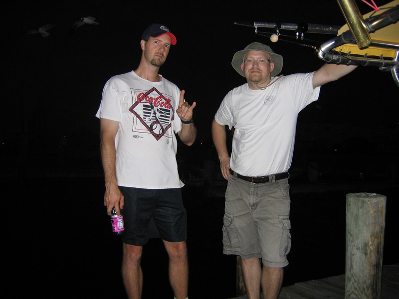 6am: the start of our trip.<br /> <br /> Steve and Brent are ready to pull some big ones in!