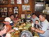 Jeff, Rushell, Tyler, Dylan, Arturo, Keith, Jody, Kwang and us chowing down!