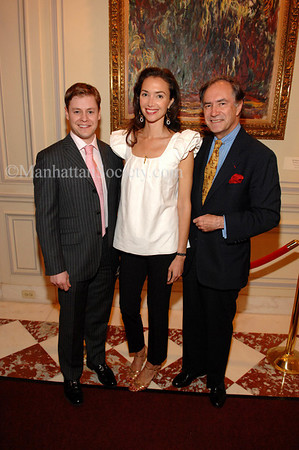 RUINART CHAMPAGNE Reception For American Friends Of The Louvre's New Young Patrons Circle at WILDENSTEIN & CO., INC.