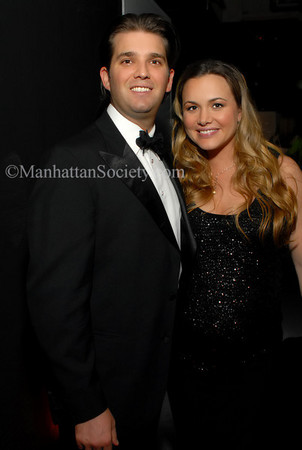 Donald Trump, Jr. & Vanessa Trump at 7 World Trade Center for THE OPERATION SMILE 25th Anniversary Smile Couture Event