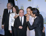 Irwin Redlener, Karen Redlener, Paul Simon, Jennifer Lopez, Marc Anthony at the 20th Anniversary Children's Health Fund Gala Dinner at the New York Hilton in New York City.  <center>New York, NY May 30, 2007 Photo by ©Steve Mack/Manhattan Society