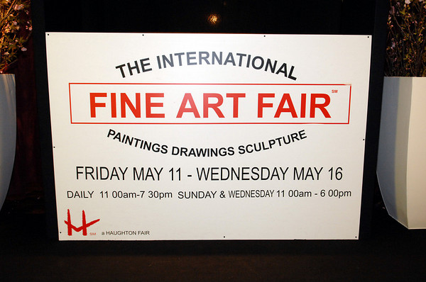 """The Frick Collection: """"Preview Opening of the International Fine Art Fair"""" at the Seventh Regiment Armory"""