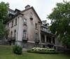 Imposing buildings on McGill campus.