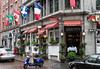 Restaurant in Old Town Montreal.
