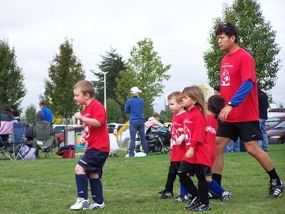 More Fall Soccer for Noah