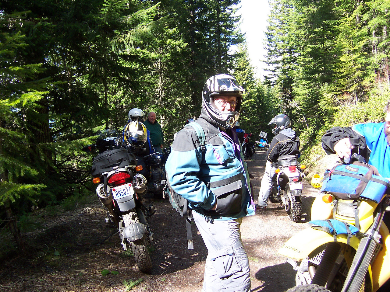 Gary, from Vancouver (formally Colorado), rides a KLR 250.