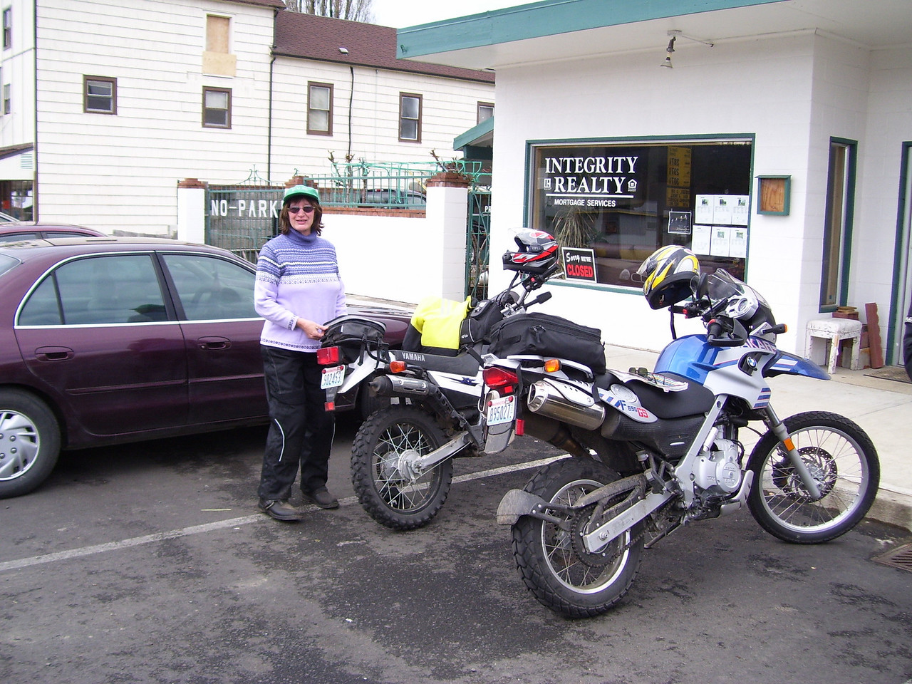 SuperSyl did a great job putting this event together. She rode her XT 225 on Sunday.