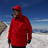 Doehle on the summit of Mt. Adams.
