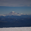 Mt. Rainier from the summit of Mt. Adams.