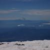 Mt. Hood from the summit of Mt. Adams.