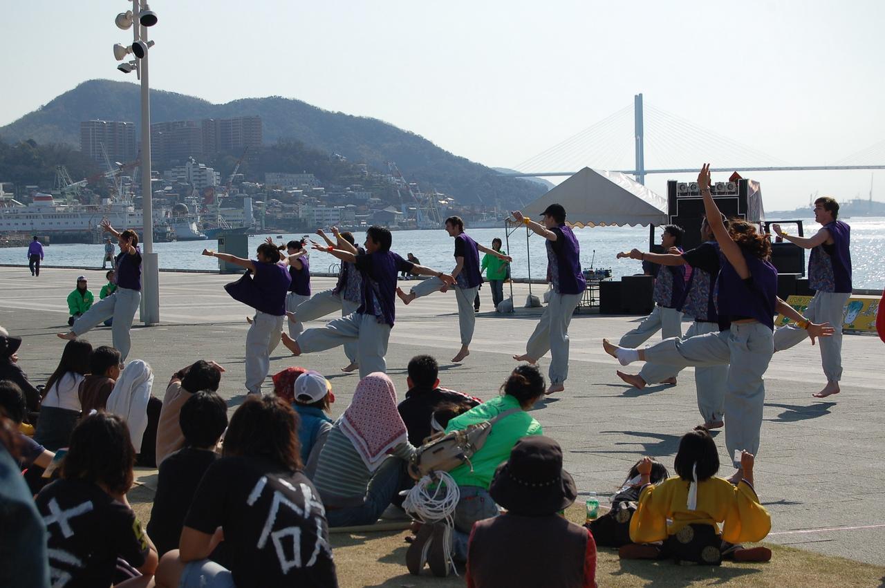 Gaijan dancers
