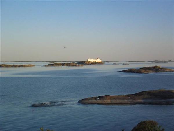 Finlandsfärja i horisonten