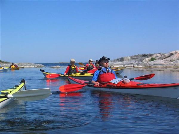 En liten paus, nya deltagare tar över navigeringen