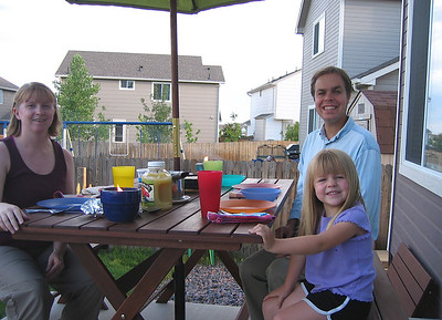 New Picnic Table - June 2007