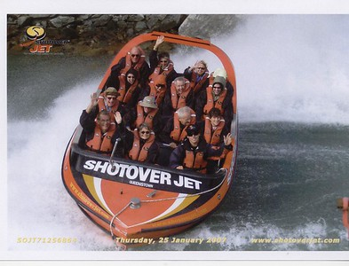 Dart Boat Riding - Shotover Jet Company