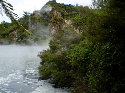 Rotorua volcanic park and lake - Will Howarth
