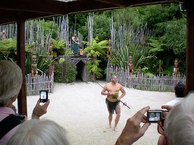 Maori village - Will Howarth