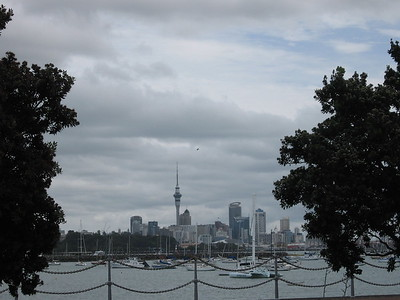 Auckland view from Devenport - Leslie Rowley