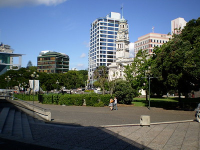 Auckland performing arts square - Will Howarth