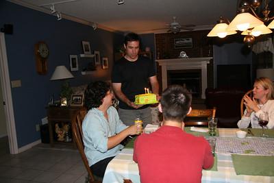 Nick's birthday without Amanda