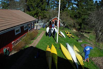 Lördagen 21 April hade Norrviken återigen sitt traditionella plastparty (fjärde året)