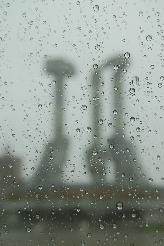 Monument to Party Foundation (rain)