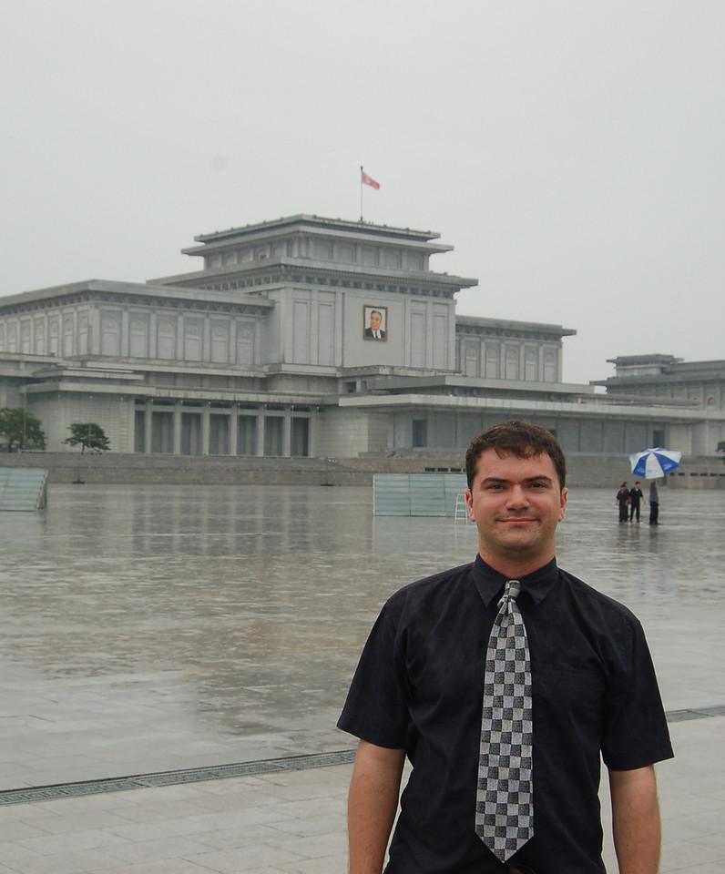 Me at the mausoleum