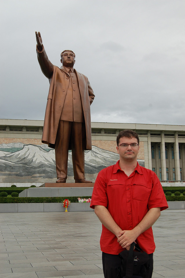 Me with Kim Il Sung