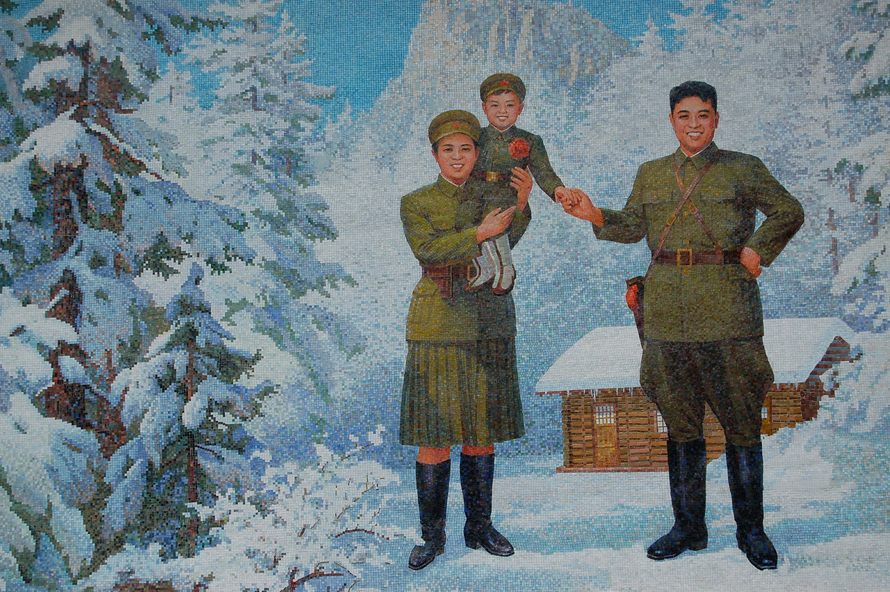 Kim Il Sung was not born here