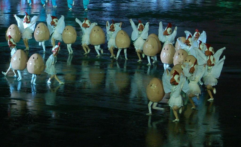 Mass Games (eggs)