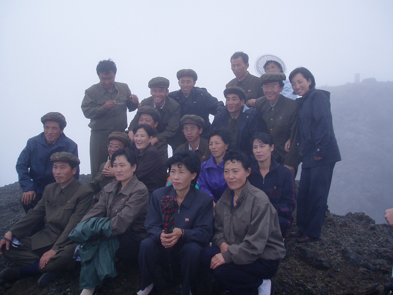 Koreans at Paekdu
